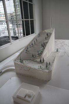 BIG architects' amagerforbraending incinerator model - designboom