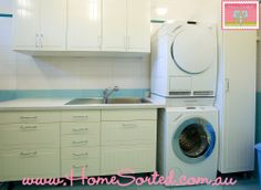 A dryer is great for drying the small necessary items during the cold winter months.