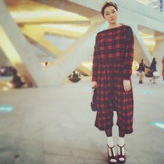 Seoul fashion week daily street look! Choihaein's street fashion look