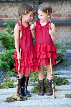 """""""HEY, WHAT ABOUT THIS UNIQUE OUTFIT???......YOU AN BET YOUR CROQUET STICK WE'LL BE NOTICED!!""""  CHECK OUT THOSE SHOES!!!......ccp"""