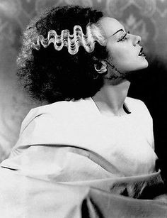 Elsa Lanchester - Bride of Frankenstein (1935)  -  8 1/2 X 11