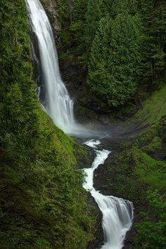 Middle Wallace Falls, Wallace Falls State Park, Gold Bar, Washington