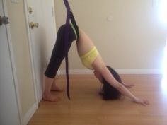 Yoga spinal traction at home - YouTube