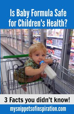 Is baby formula safe? Learn about the health risks of feeding your baby formula filled with GMOs and toxins!