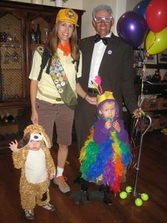 invite and delight halloween costumes from the movie up