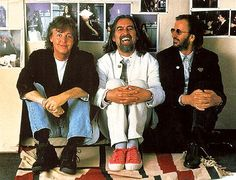 Paul McCartney, George Harrison, and Richard Starkey (anthology times)