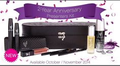 200th Anniversary Presenter's Kit Contains:  3D Fiber Lashes, 3 Precision Pencils, 1 Moodstruck Lip Gloss, 1 bottle of our New Uplift Eye Serum, and a bottle of our Glorious Primer.  These are all full size products.  $99.00