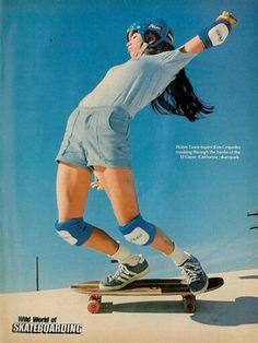 Kim Cespedes - El Cajon Skatepark.