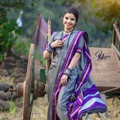 Marathi Saree, Nauvari Saree, Indian Beauty, Sari, Culture, Fashion, Saree, Moda, Fashion Styles
