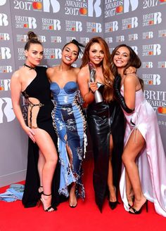 Little Mix at the BRITs 2017
