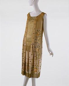 Evening Dress    Jean Patou, 1925    The Metropolitan Museum of Art