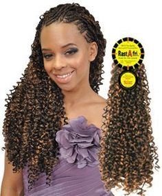 crochet braids on Pinterest Bohemian Braids, Marley Hair and ...