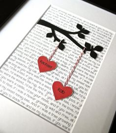29 Best Paper Anniversary Gifts Images Boyfriends Gift Ideas
