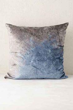 Plum & Bow Badala Dyed Velvet Pillow - Urban Outfitters