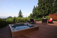 Jacuzzi J-LX - Jacuzzi's most energy efficient hot tub Spas, Terraced Backyard, Jacuzzi Hot Tub, Steel Frame Construction, Comfortable Pillows, Energy Efficiency, Gazebo, Hot Tubs, Outdoor Decor