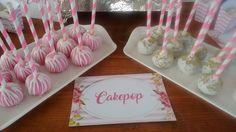 Cake pop  hermosas  y  deliciosas