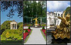 Il parco del Linderhof Schloss