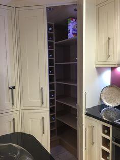 Larder cupboard (shaker bone, wickes)