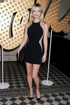 The Best Little Black Dresses of 2012 - Kate Moss in Stella McCartney
