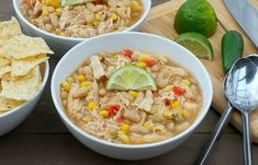 Slow Cooker Chicken + White Bean Chili