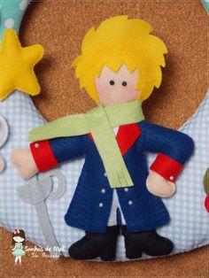°°Guirlanda O Pequeno Príncipe... - Sonhos de Mel 'ੴ - Crafts em feltro e tecido