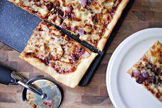 Barbecue Pheasant {or Chicken} Pizza