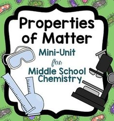 Matter - Chemistry Activities with States of Matter and More ...