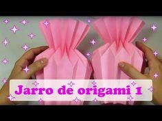 Envoltorio para ramos de flores de papel. Origami ambpaper - YouTube