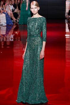 Elie Saab Fall 2013 Couture Fashion Show - Anna Martynova