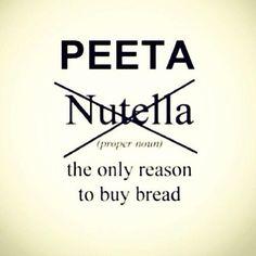 Lol haha funny pics / pictures / food / Peeta / Hunger Games Humor