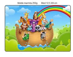 Arca de Noé - Mini Kit feito pela Leitora Natalia Kellemann!