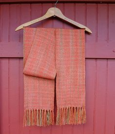 September Road Trip Handwoven Scarf by coffeebreakdesigns on Etsy, $90.00