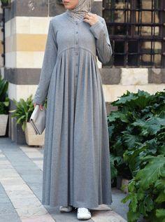 Abaya Fashion, Modest Fashion, Fashion Dresses, Modest Dresses, Modest Outfits, Trendy Dresses, Mode Abaya, Mode Hijab, Hijab Style Dress