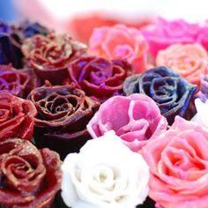 Wax roses. Photo by Sarah Zepecki.