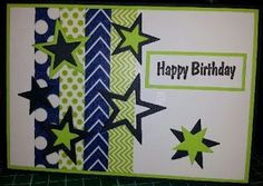 Washi Card - Happy Birthday