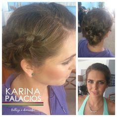 Peinado Karina Makeup Anneliese