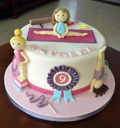 Gymnastics - Cake by Agnieszka