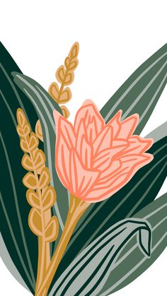 My May Flowers a daily drawing challenge Tulip line drawing illustration iPad Pro Procreate iPhone background wallpaper leaves greenery Art And Illustration, Mountain Illustration, Floral Illustrations, Pattern Illustration, Iphone Background Wallpaper, Aesthetic Iphone Wallpaper, Ipad Background, Leaves Wallpaper, Flower Wallpaper