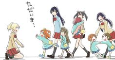 Love Live feat.Honoka, Umi, Kotori, Maki, Nozomi, Eli, Rin, Hanayo and Nico