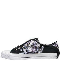 Ed Hardy Lowrise Bronx Shoe for Kids - Black - Yvonne's Hermes Handbags, Handbags Michael Kors, Louis Vuitton Handbags, Kid Shoes, Fashion Shoes, Slip On, Chic, My Style