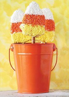 Candy Corn on the Cob - #Halloween Recipes