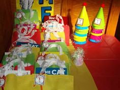 Favors at a Dr. Seuss Party #drseuss #partyfavors