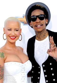 Amber Rose shaded her ex-boyfriend Kanye West in a new interview, saying Wiz Khalifa was 'the only man I've ever loved' — see what she said!
