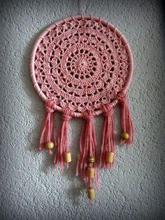 Crochet Doily Dream Catcher