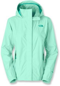 The North Face Resolve Rain Jacket - Women's. I like it better in the Deep purple or dark green colors