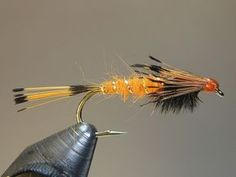 s Orange Nymph (SBS) Cornwall?s Orange Ny Gone Fishing, Best Fishing, Fishing Reels, Fishing Boats, Fishing Stuff, Trout Fishing Tips, Fishing Guide, Fishing Tricks, Steelhead Flies