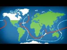 Learn about the role of the sea in global warming. The global conveyer belt is part of the large-scale ocean circulation that is driven by differences in the...