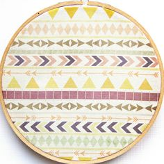 Tribal print theme featured on print & pattern
