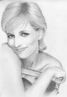 Stunning Pencil Sketch of our beloved Princess Diana which was presented to Prince Harry while he was in Australia. Whoever did this is a true artist with an eye for perfect detail. Diana would have loved this. Maybe Charles and Camilla should hang it in their Drawing Room!. Evie Miller. English lady in USA. 💂👱💂