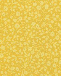 Halltapet  Tapet PiP Lovely Branches Yellow från Pip Studio